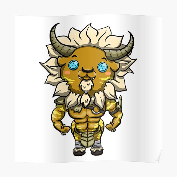 Lynel Botw Posters Redbubble