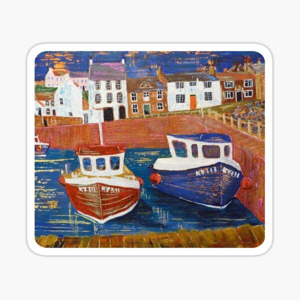 Crail Harbour 1 Sticker