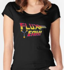 Flux Yeah! Women's Fitted Scoop T-Shirt