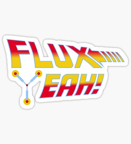 Flux Yeah! Sticker