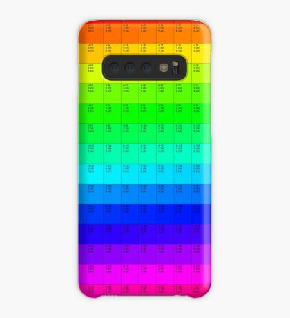 Color Selector by emoc Case/Skin for Samsung Galaxy