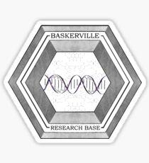 BASKERVILLE RESEARCH BASE Sticker