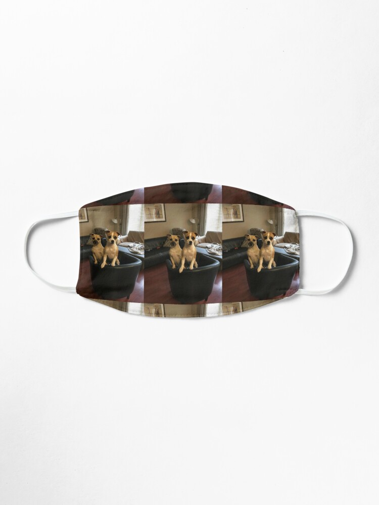 Alternate view of Dogs  Mask