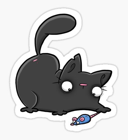 Creepies - Moggy Sticker