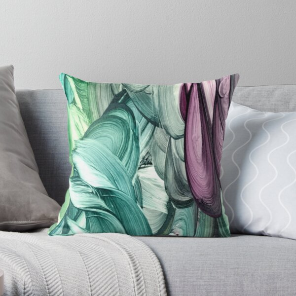 Mermaids X Throw Pillow