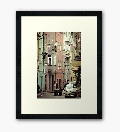 The Old and The New Framed Print