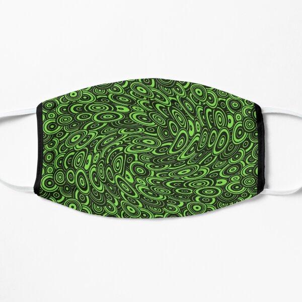 twirling platters Flat Mask