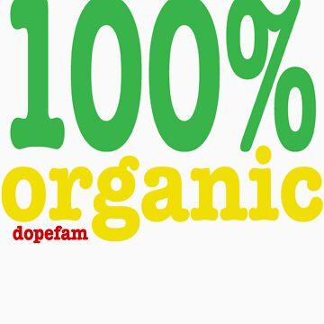 DPFM Clothing presesnts the organic tee in rasta! by Dutch1370