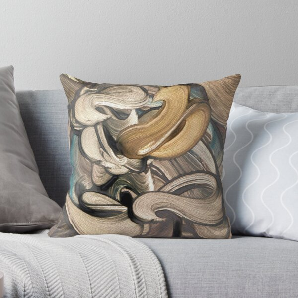 Hecatoncheires Throw Pillow