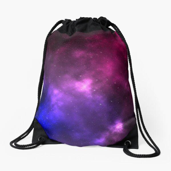 Bisexual Pride Galaxy Drawstring Bag