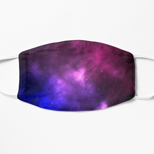 Bisexual Pride Galaxy Flat Mask