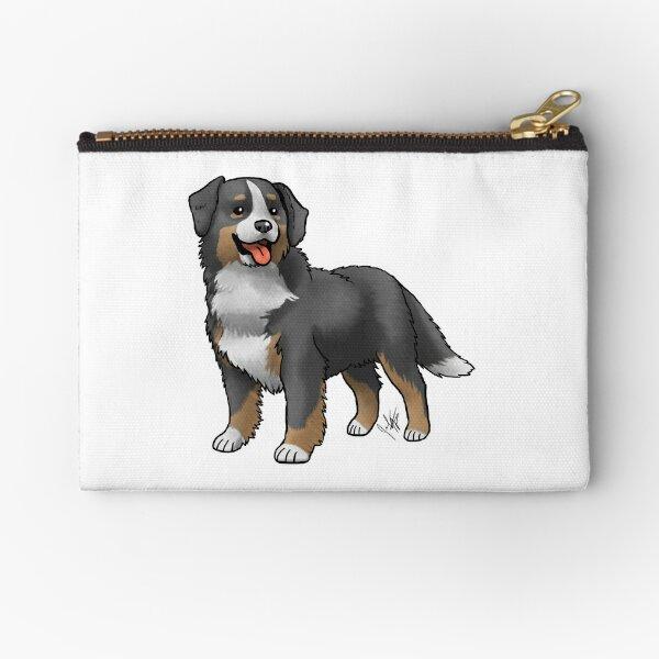 Bernese Mountain Dog Zipper Pouch