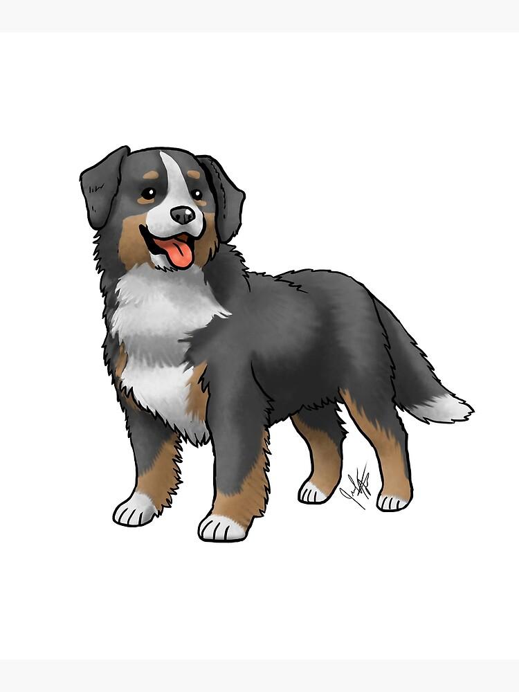 Bernese Mountain Dog by jameson9101322