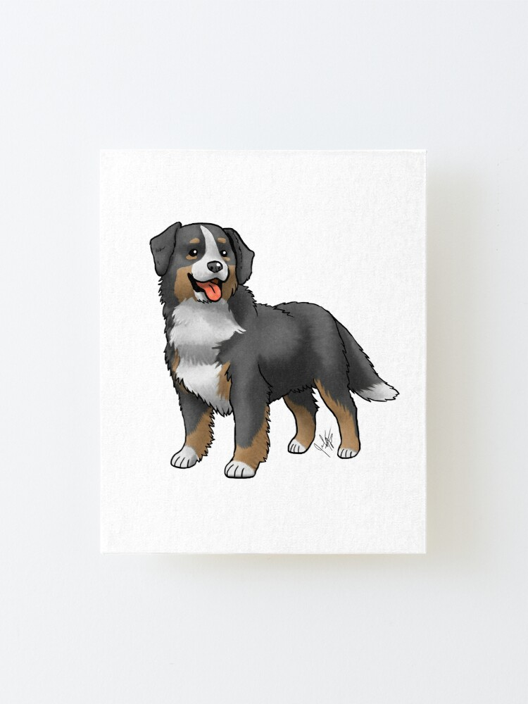 Alternate view of Bernese Mountain Dog Mounted Print