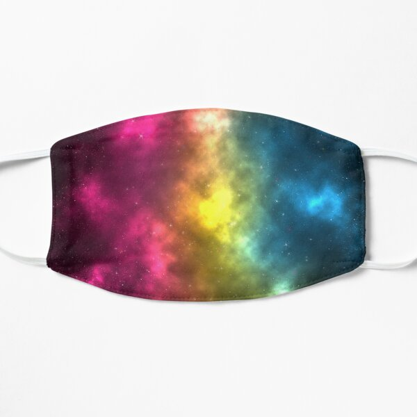 Pansexual Pride Galaxy Mask