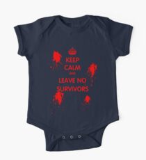 Keep Calm And Leave No Survivors One Piece - Short Sleeve