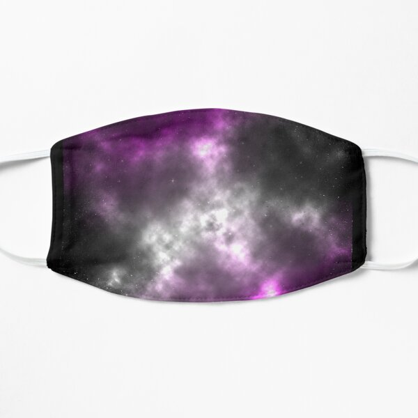 Asexual Pride Galaxy Mask