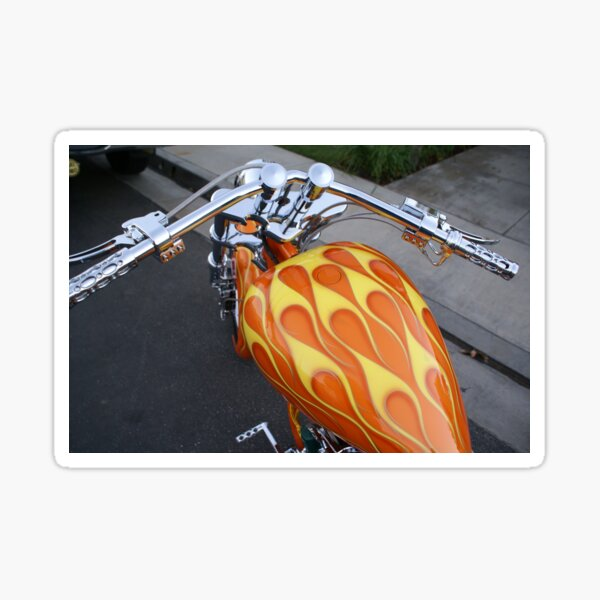 Johns' Streamline Ride; La Mirada, CA USA Sticker