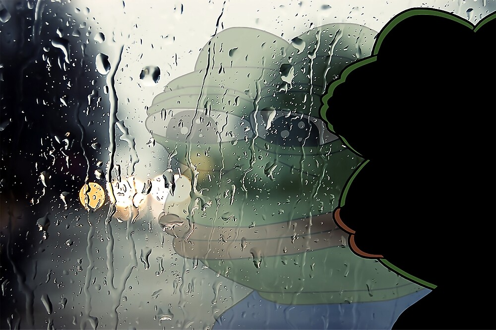When A Sad Song Comes On The Radio And U Stare Out The Window