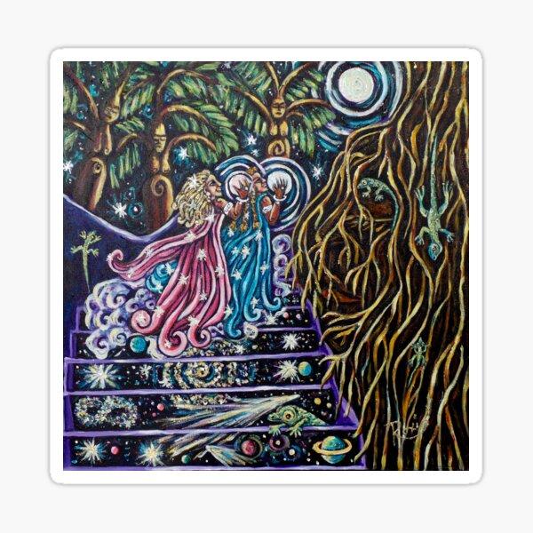 The Sacred Feminine Ascending Sticker