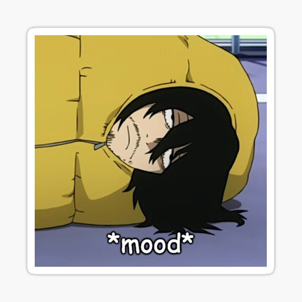 aizawa meme Sticker
