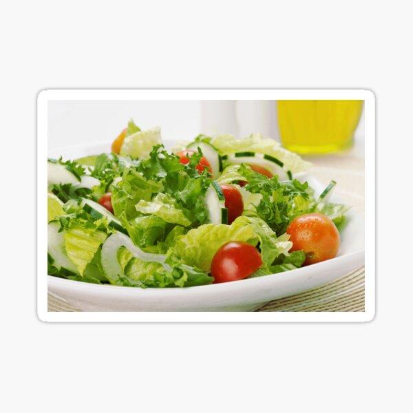 Kitchen decor, Salad socks, Salad pillow, Salad mask, Salad leggings  Sticker