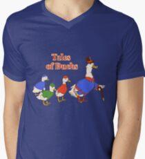 Tales of Ducks  Men's V-Neck T-Shirt