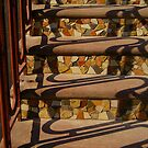 Steps and Wrought Iron Handrail by peterrobinsonjr