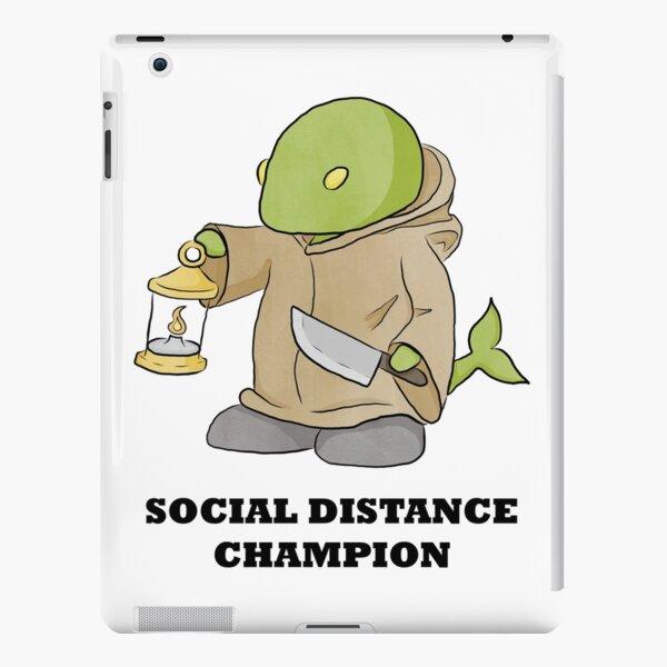 Social Distance Tonberry iPad Snap Case