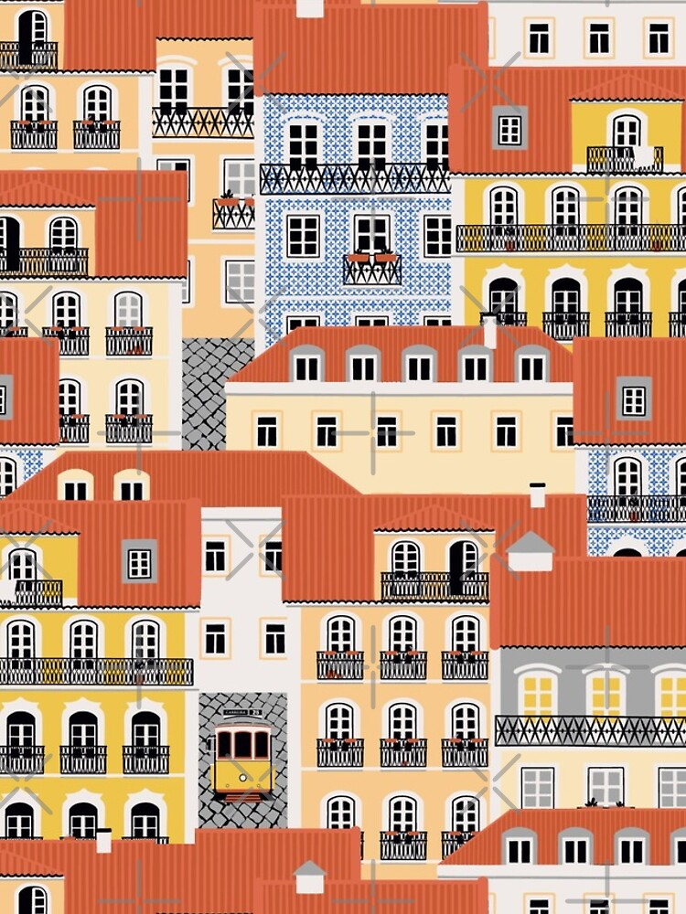Lisbon Houses by nadyanadya