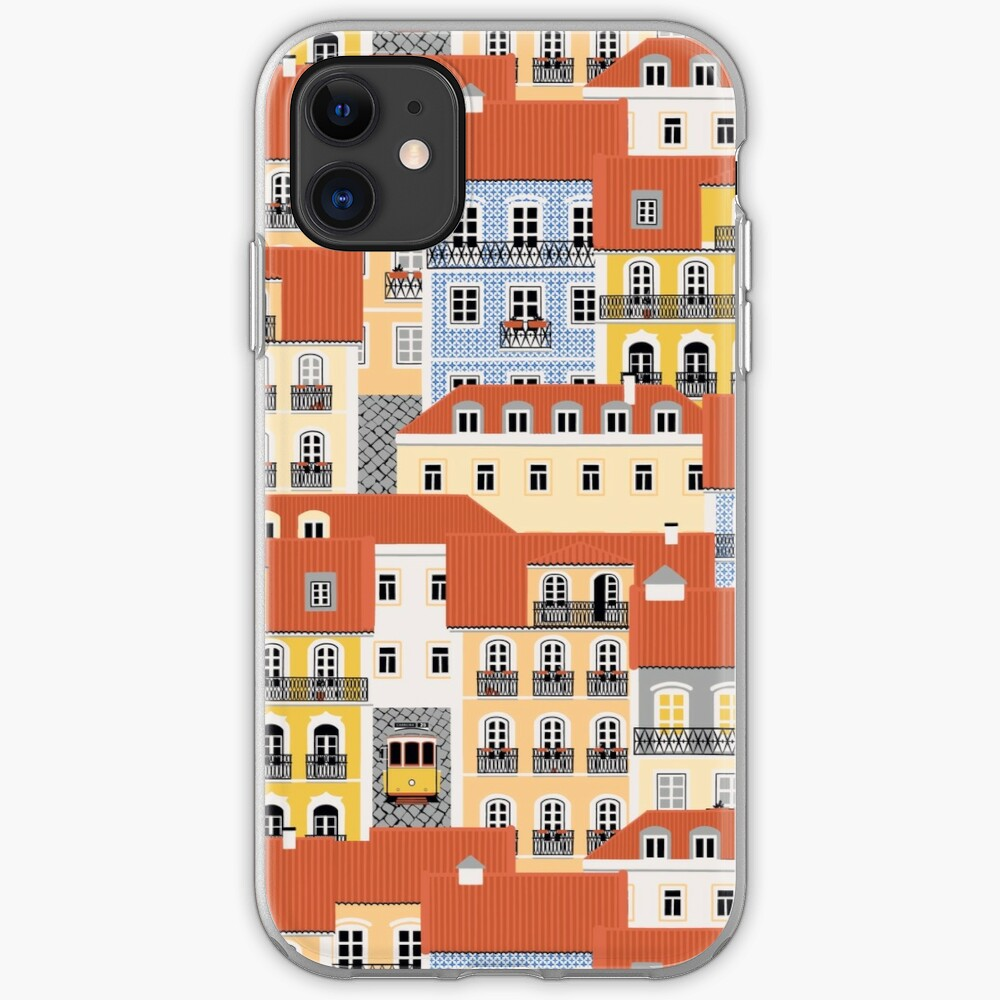 Lisbon Houses iPhone Case & Cover