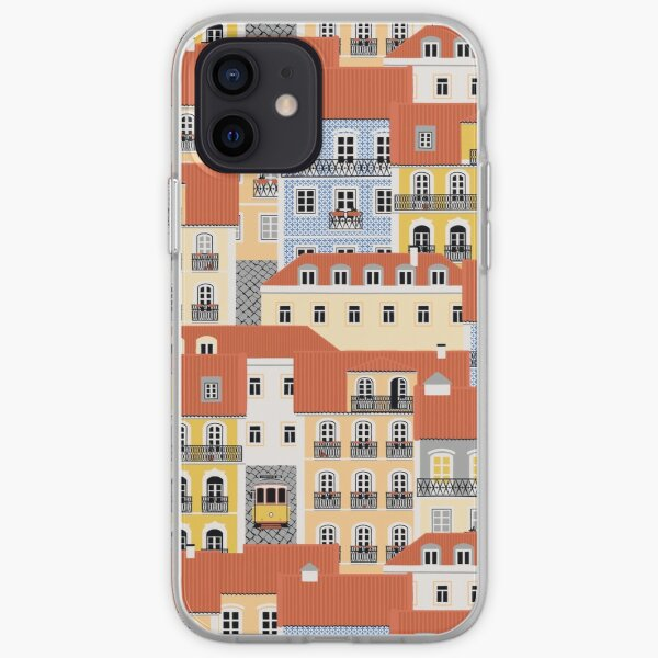 Lisbon Houses iPhone Soft Case