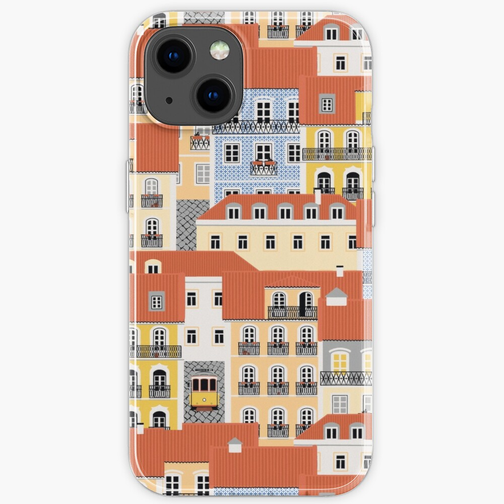 Lisbon Houses iPhone Case