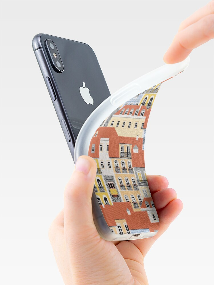 Alternate view of Lisbon Houses iPhone Case & Cover