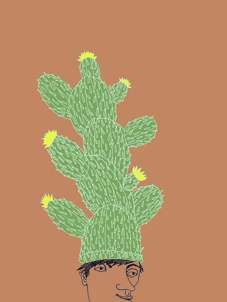 Cactus Hat Hipster Street Wear by SusanSanford