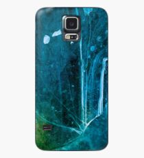 Cosmic Winter - Ice Abstract Case/Skin for Samsung Galaxy