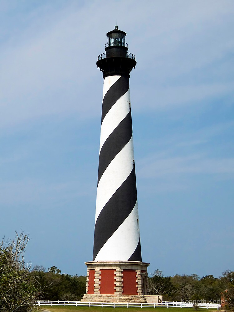 Cape Hatteras Lighthouse, Outer Banks, North Carolina by Kenneth Keifer