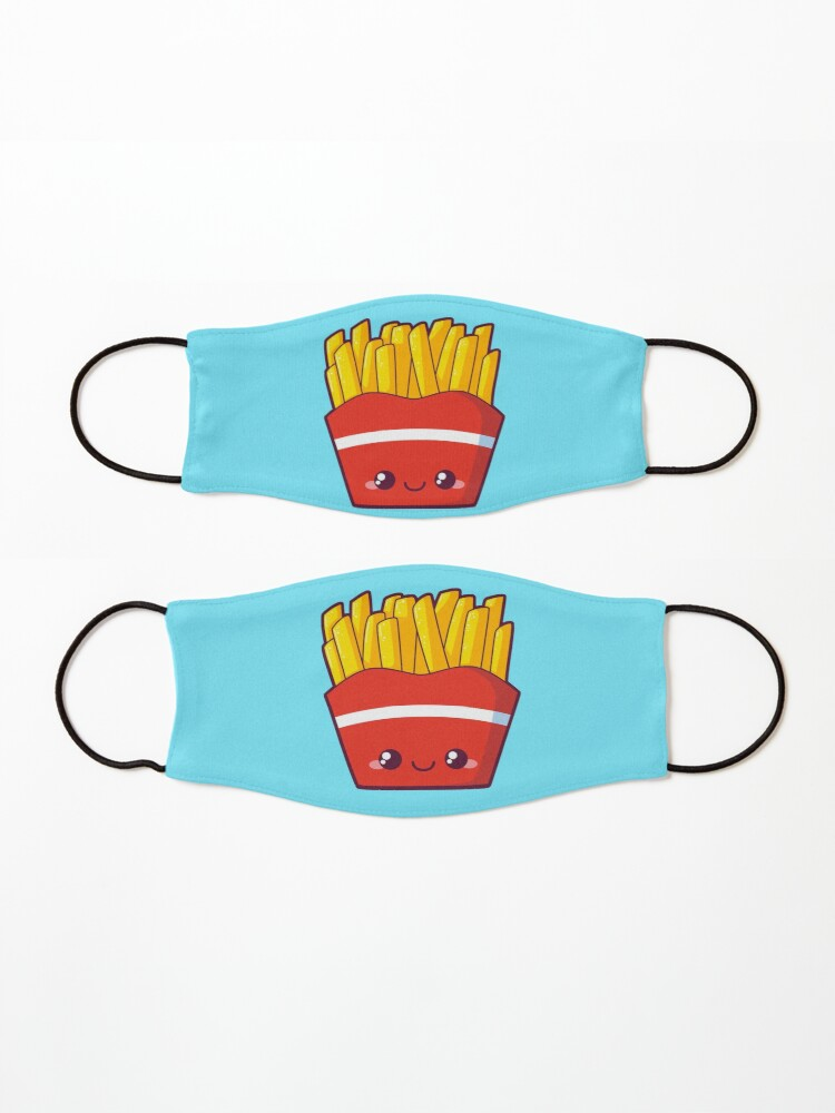 Alternate view of Fries Mask