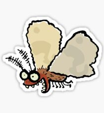 Melli, the mean moth Sticker