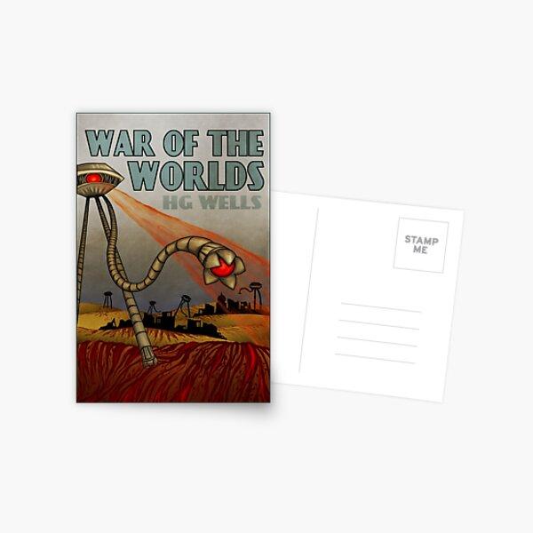 War of the Worlds Postcard