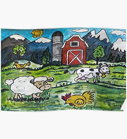 This Old Farm Poster