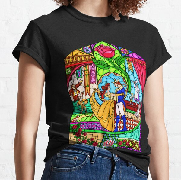 Patterns of the Stained Glass Window Classic T-Shirt