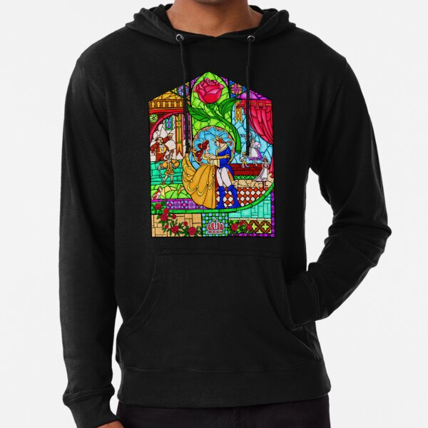 Patterns of the Stained Glass Window Lightweight Hoodie