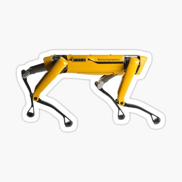 Boston Dynamics robot dog sticker Sticker