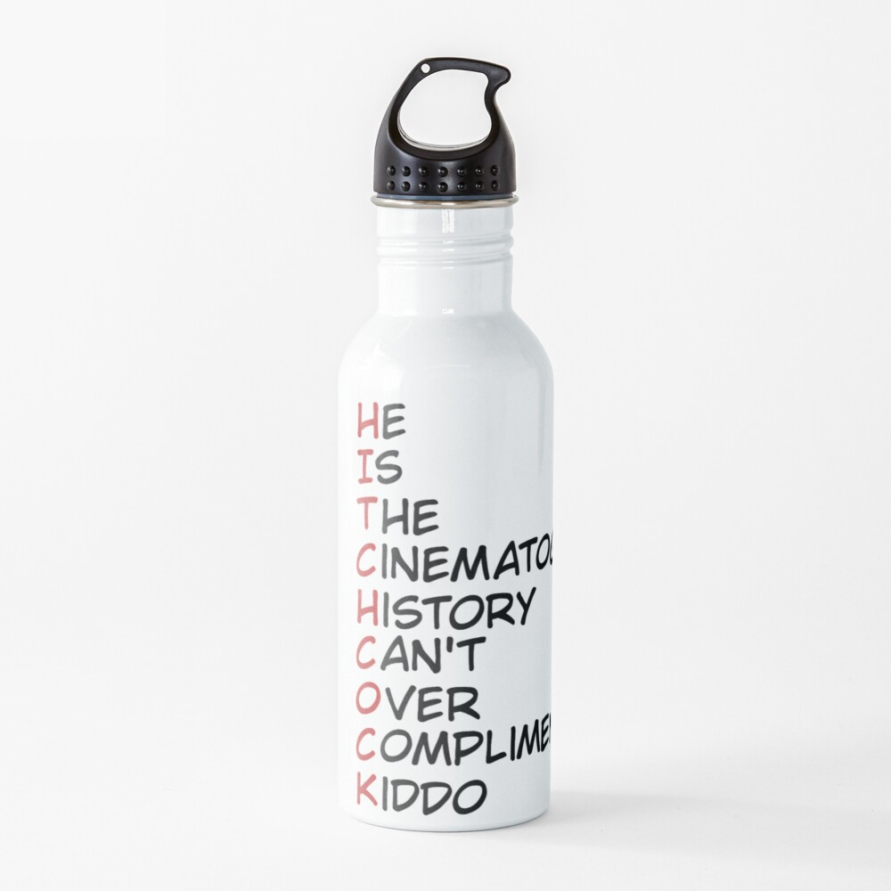 Hitchock: The Director No Person Can Replace Water Bottle