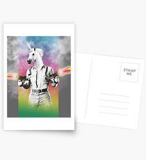Badass Unicorn Postcards