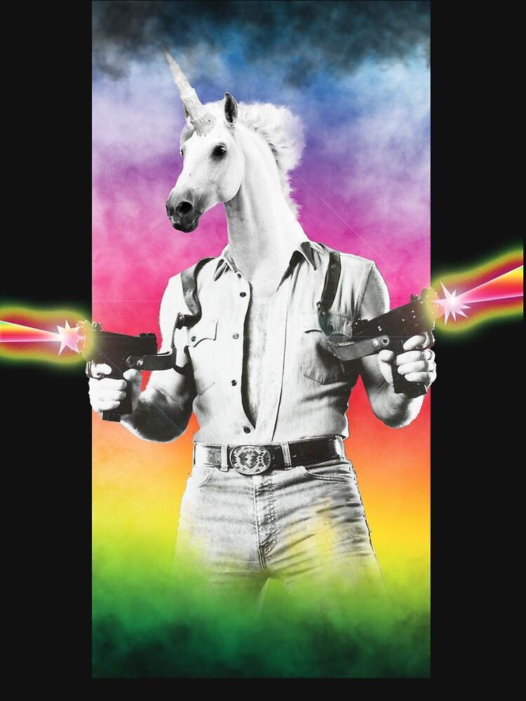 Badass Unicorn | Unisex T-Shirt