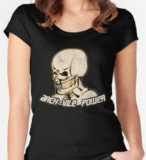 Arch-Vile Power Women's Fitted Scoop T-Shirt