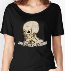 Arch-Vile Power Women's Relaxed Fit T-Shirt