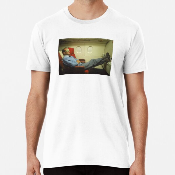 Jacques Chirac Sieste T-shirt premium